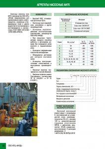 Агрегаты насосные АНГК